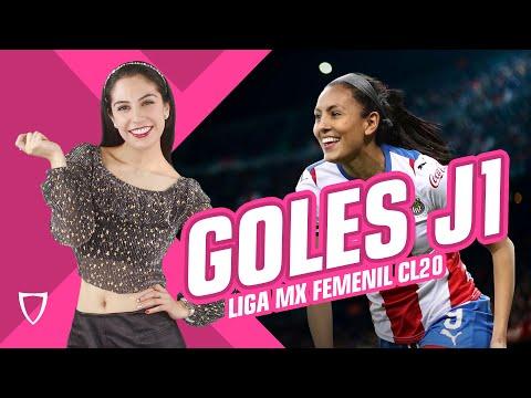 ¡COMIENZA LA LIGA! - GOLES Jornada 1 Liga FEMENIL MX Resumen / Clausura 2020  Futbol Enero 7 2020