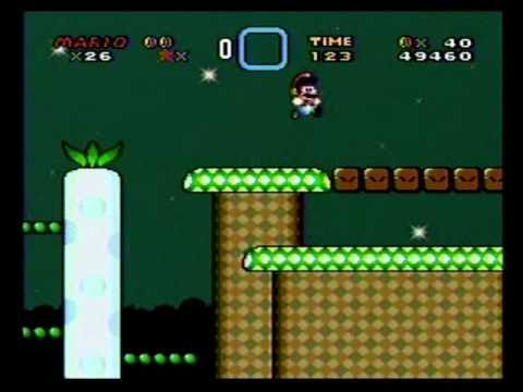 Super Mario World Snes Walkthrough Part 62 Vanilla Dome 4 After