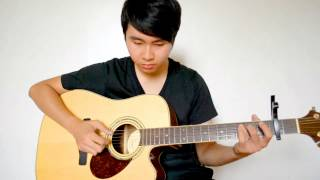 Daniel Padilla - Nasa iyo na ang lahat (Fingerstyle cover by Jorell) WITH MP3