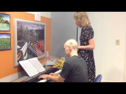 Taylor Swift visits a leukemia patient and jams with him (for u/GodIsMerciful)