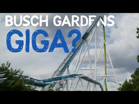 Will Busch Gardens Get A Giga In 2021? | Coaster Theory