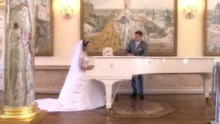 Царицыно. Красивая свадьба