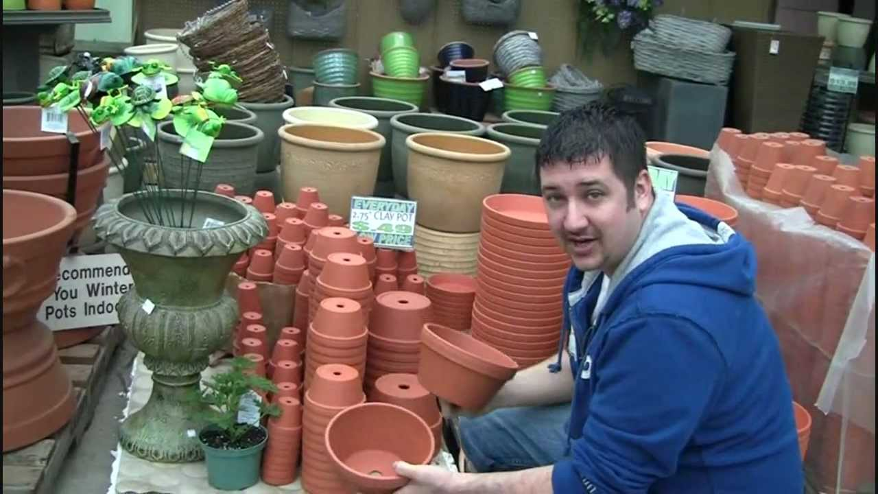 Unique And Neat Looking Flower Pot Tower Cheap Diy Youtube