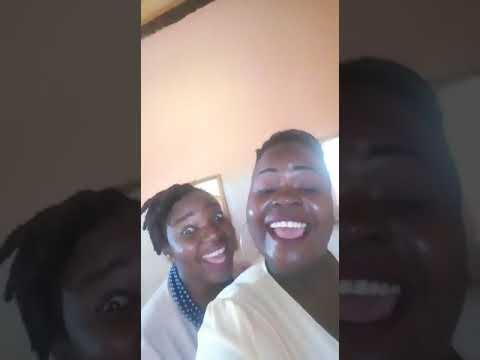 Thabelo Netshiunda with Rofhiwa