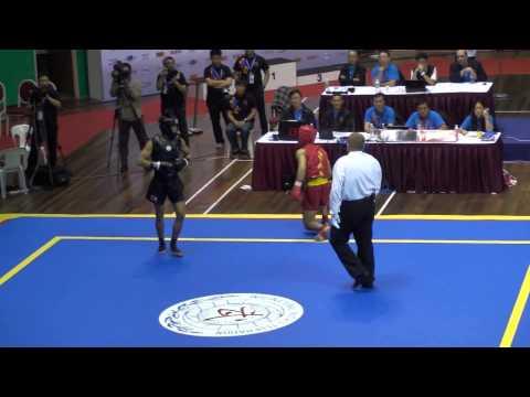 12th World Wushu Championships Kuala Lumpur - Sanda Finals Part 1