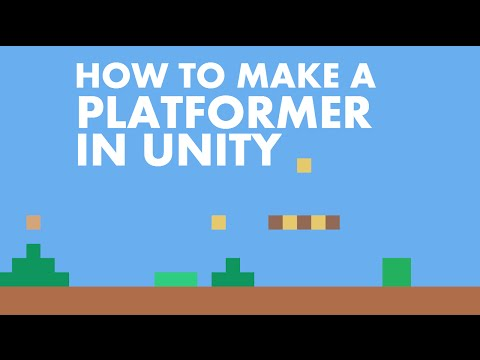 #1 How To Make a Platformer in Unity 5 | Setting Up The Controls