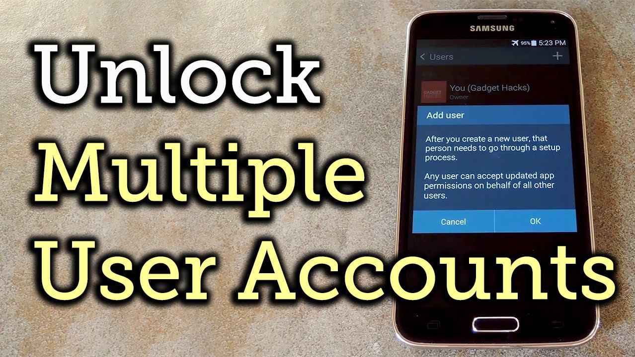 Enable Multiple User Accounts on Any Android Phone [How-To]
