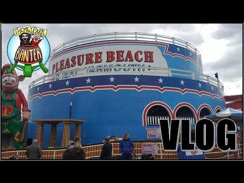 Great Yarmouth Pleasure Beach and Sealife Vlog - April 2017