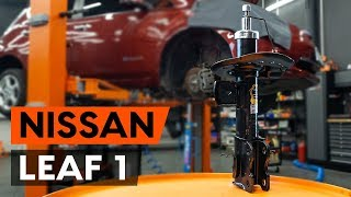 NISSAN LEAF első és hátsó Lengéscsillapító szerelési: ingyenes videó