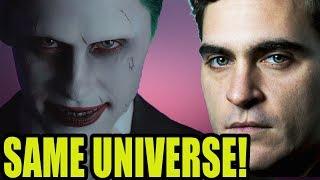 New  Joker Prequel  Is In Same Universe As Jared Leto Joker