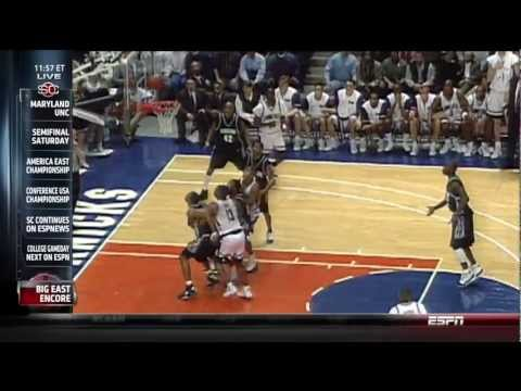 The Big East Tournament at MSG - R.I.P.