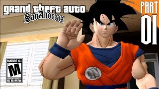 DBZ: SAN ANDREAS | Goku Story Mode part 1 [PC- HD]