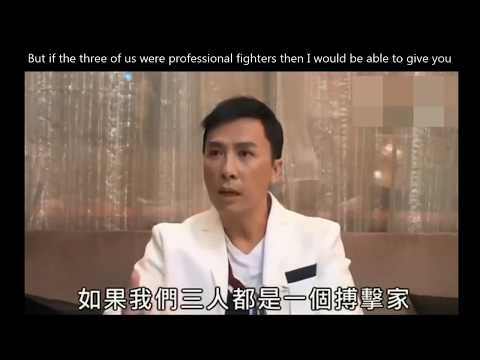 Sweet Donnie Yen Interview