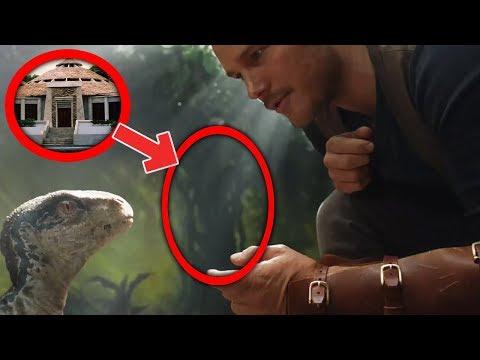 El Gran Secreto Escondido en el Teaser Trailer de Jurassic World 2 Fallen Kingdom