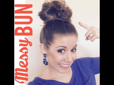 The inFamous Heather Messy Bun Tutorial
