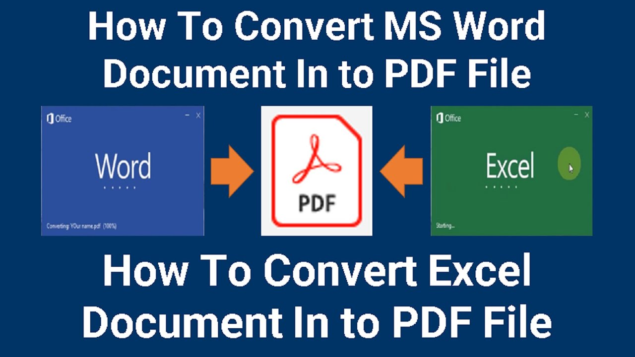 how to convert word document to pdf youtube