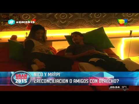 Maypi y Nicolás, ¿distancia o reconciliación?