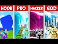 Minecraft NOOB vs PRO vs HACKER vs GOD: FAMILY TSUNAMI in Minecraft Animation