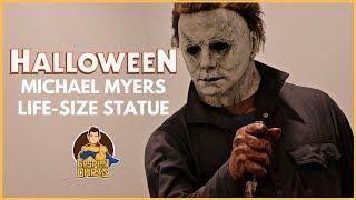 Halloween (2018)- Life Size Michael Myers Statue!