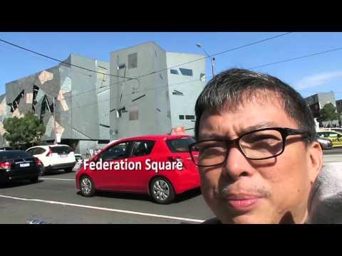 VLOGISSIMO EPS 012: Melbourne Trip - Day 1: Bourke Street
