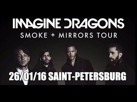 Imagine Dragons 26/01/16  Saint-Petersburg Russia Full Show HD