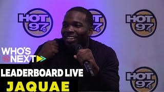 Love & Hip Hop NY Star Jaquae & Fashion Consultant Mike B. Rate Music on Leaderboard Live