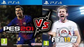 TRAILER FIFA19 VS PES19