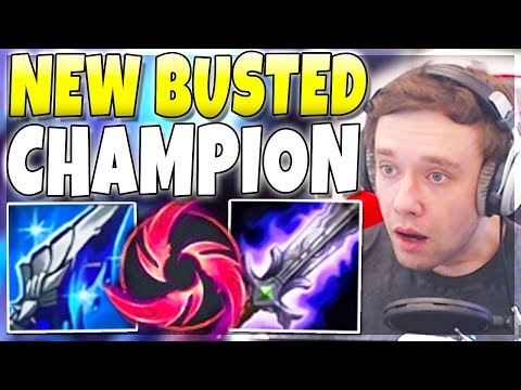 This champion is FINALLY OP after 1 year GIVEAWAY - League of Legends