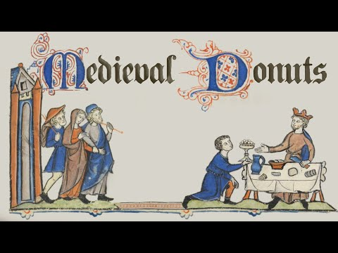 600-year-old Medieval Donut Recipe   |  Ann Reardon How To Cook That