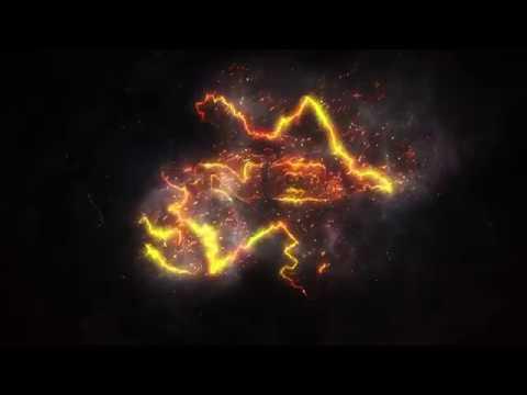 Burning Fire Logo Reveal