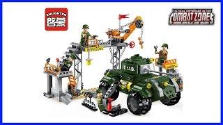 ENLIGHTEN COMBAT ZONES 1712 Военное LEGO из Китая. Супер набор!!!