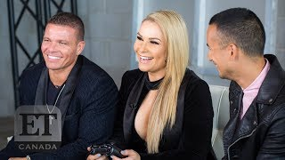 Natalya Neidhart Reveals What It Was Like Seeing Dad In WWE2K19 | EXTENDED