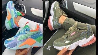 9b6e3a5d7 أحدث موديلات احذية رياضية للبنات 2019 😍ولا أروع لا يفوفتك احلى كوتشيات  بناتي