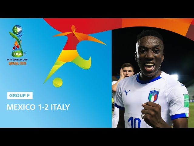 Mexico v Italy Highlights - FIFA U17 World Cup 2019 ™