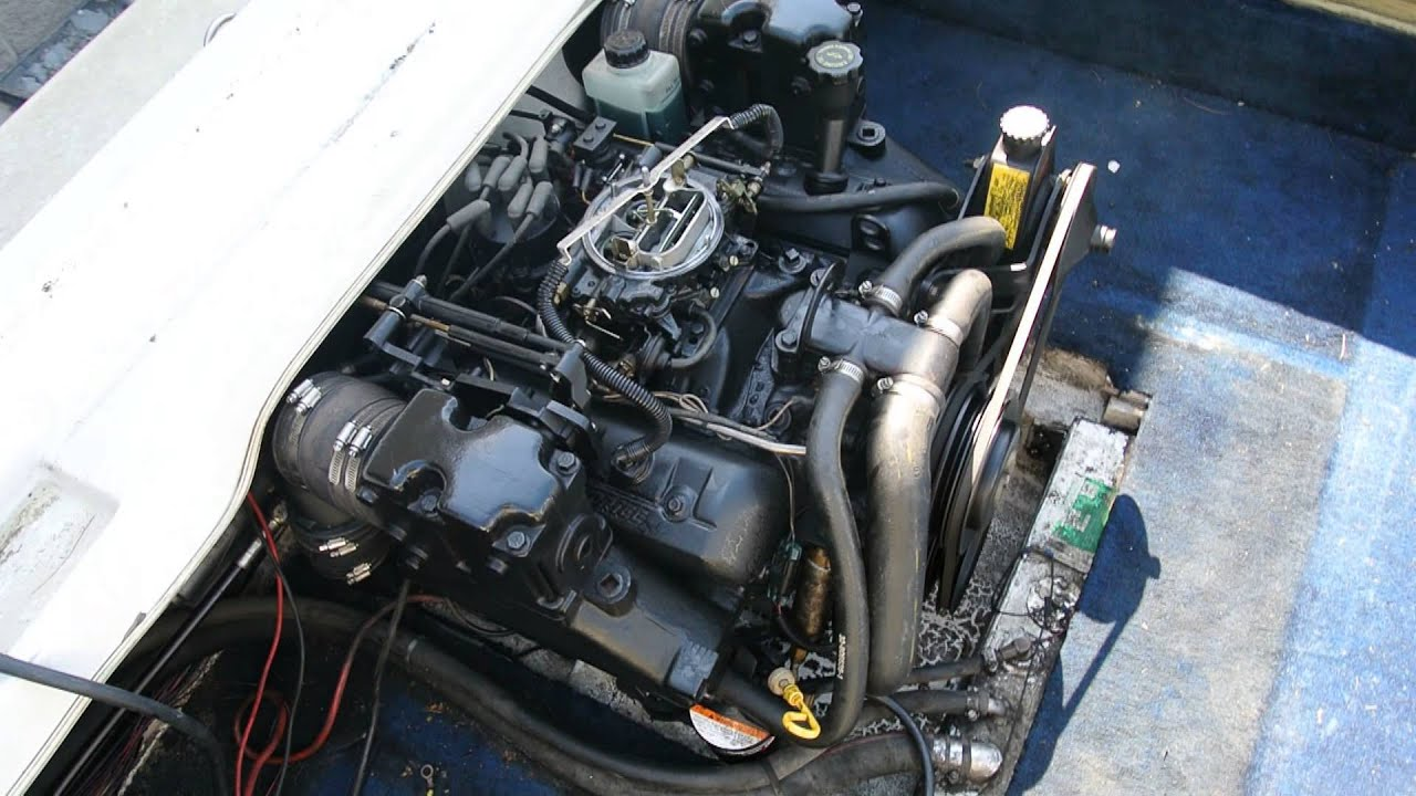 4.3 V6 LX Mercruiser Alpha One Engine Test Run Gen II FOR ...