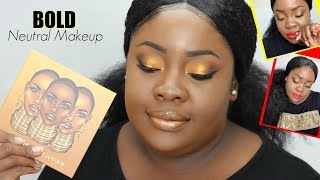 BOLD Neutral Makeup | The Warrior Palette
