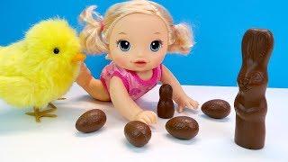 ГЕЙ КУРЧА, А ДЕ СЮРПРИЗИ?! Лялька Бебі Элайв #Кіндер #Сюрприз Шоколадні Яйця Іграшки Для дітей.