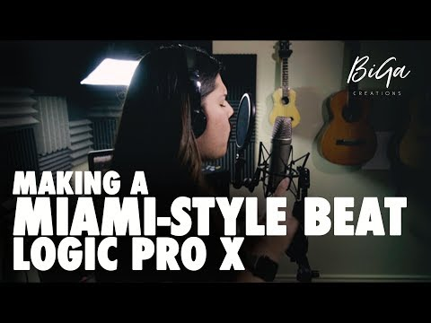 Making a Miami Style Beat [Logic Pro X]