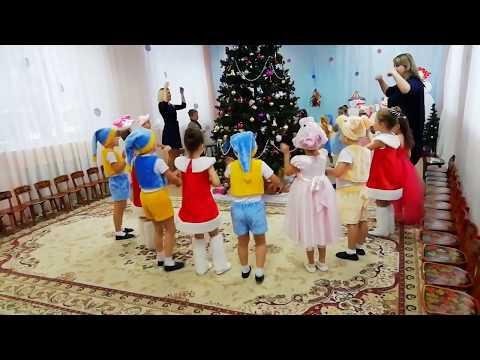"""Новогодний праздник в средней группе №1 МБДОУ """"ЦРР д/с №53"""""""