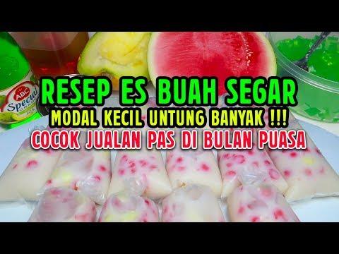 Resep Es Buah Segar Cocok Untuk Jualan Di Bulan Puasa
