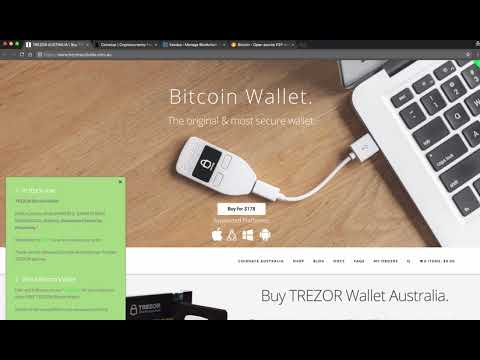 *** Crypto currency wallets for Australians and how to store your crypto