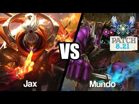Vidéo d'Alderiate : [FR] JAX VS MUNDO - DE 0/2 À 8/2 INSANE - 8.21 - DIAMANT 1
