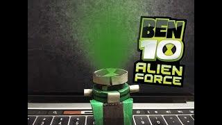 Homemade Ben 10 Alien force Omnitrix