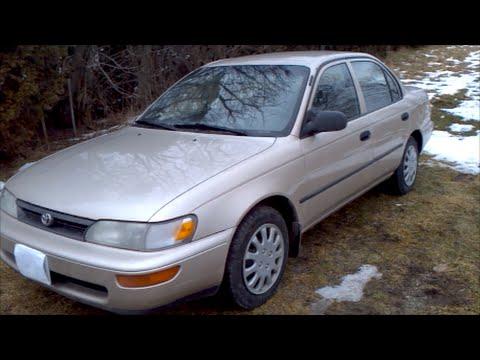 1995 Toyota Corolla Review (E100)