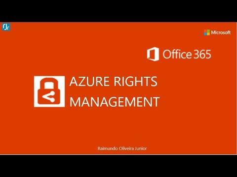 Habilitando Azure Rights Management