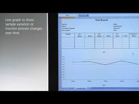 Document gloss data of micro-gloss in Excel - BYK-Gardner GmbH