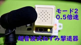 Ultrasonic 9 Tone rat repellent sound!! 8 hour Long play