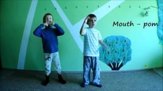 My Body - учим части тела на английском языке(Занятие группы «Happy English»для детей от 4 до 6. Дети поют, играют, учат цифры и буквы, названия разных предметов..., 2015-11-06T19:07:26.000Z)