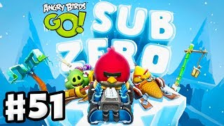 Angry Birds Go! Gameplay Walkthrough Part 51 - Sub Zero Preview! (iOS, Android)