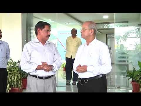 Dr.E Sreedharan visited Metro Rail Bhavan in Hyderabad on 26.10.2017